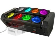 Spider Beam 8 Leds Cree de 12w RGBW Quadri-Led