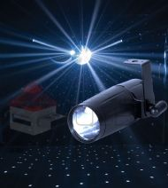 Spot Led Pin Beam 3w