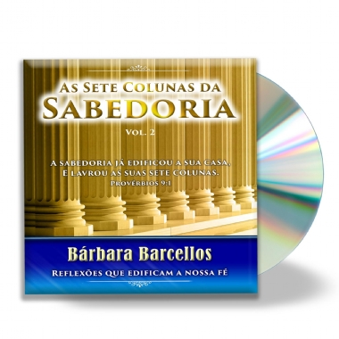 "CD ""AS SETE COLUNAS DA SABEDORIA"" - Vol. 2"