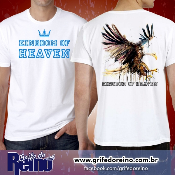 Camisa KINGDOM OF HEAVEN - Reino dos Céus