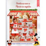 Semaninha Minnie para bordar (8 pe�as)