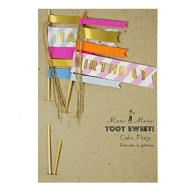 Toot Sweet - Enfeite de bolo Happy Birthday