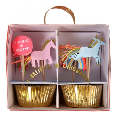 Unicórnio Kit Cupcake