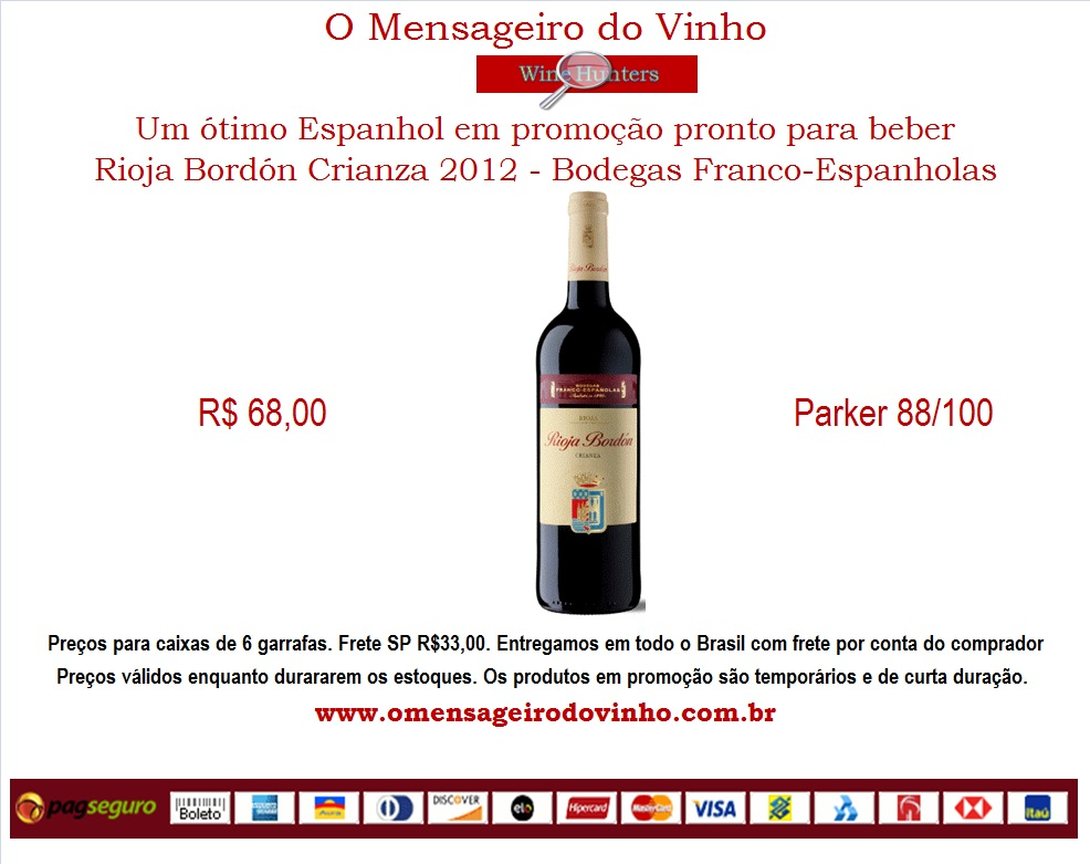 Rioja bordon crianza