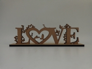 Love 6 mm com ornamentos
