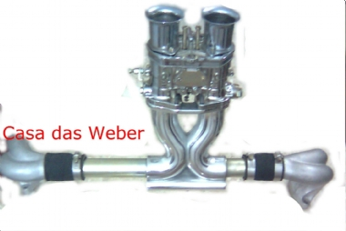 Weber 40 Idf Original , Coletor Central Fusca 1600