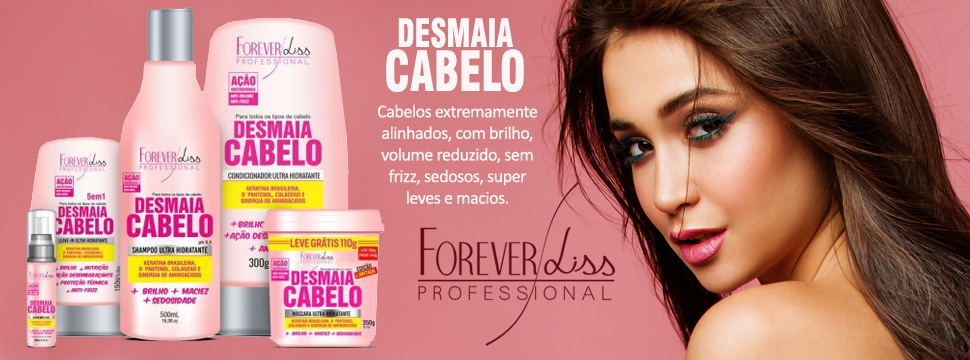 forever liss desmaia cabelo
