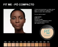 Maybelline Fit Me - Pó Compacto Natural