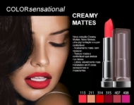 Maybelline Batom Color Sensational Creamy Mattes