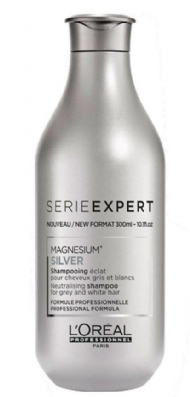 Shampoo Loreal Serie Expert Silver Magnesium 300 ml