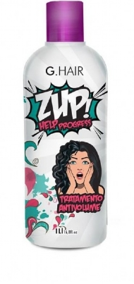 G.Hair Zup Help Progress Tratamento Progressiva Anti Volume de 1 litro