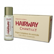 Itallian Hairtech Hairway Chantilly Argan Complexo de Nutrição 12 x 10 ml