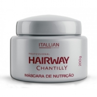 Itallian Hairtech Hairway Chantilly Máscara de Nutrição 200 g