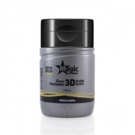 Magic Profissional Mini Gloss Matizador 3D Blond Black - Efeito Grafite 100 ml