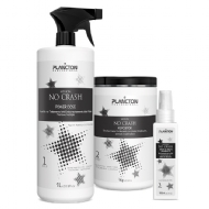 Plancton Professional Kit No Crash Power Dose 1L, Repositor de Massa 1Kg e Spray de Brilho 100ml