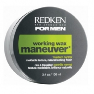 Redken For Men - Working Wax MANEUVER Pomada Controle Médio 100 ml