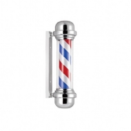 By Roger Barber Pole Poste para Barbearia