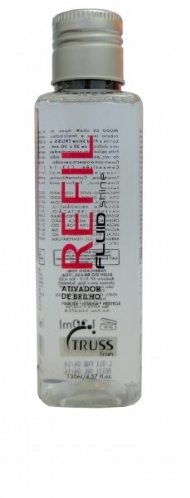 Truss Cosmetics Finish Fluid Shine Refil - Ativador de Brilho em Refil 130 ml