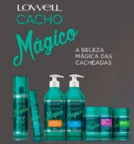Lowell Cacho Mágico Shampoo, Máscara, Creme Modelador, Gelatina e Magic OIl kit