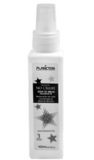 Plancton Professional Spray de Brilho No Crash Macadamia (Passo 3) 120ml