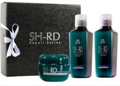 Kit Cabelo SH-RD Nutra Therapy Shampoo 140ml + Condicionador 140ml + Leave-in 140ml