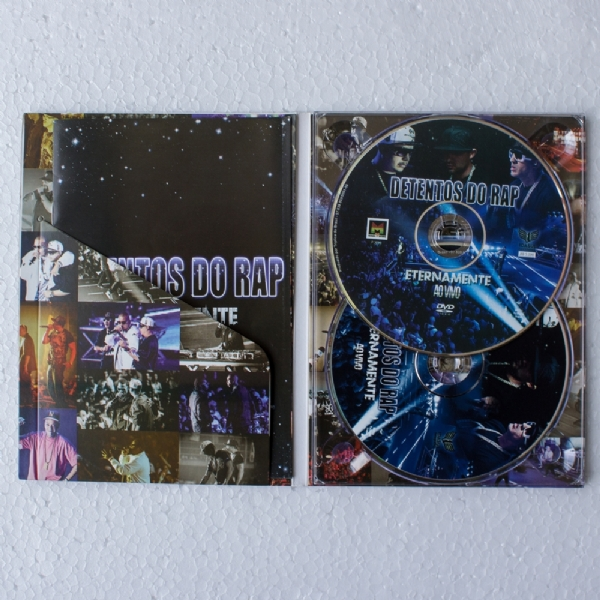 DVD e CD Detentos do Rap ao vivo