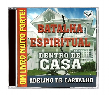 "CD AUDIO BOOK ""BATALHA ESPIRITUAL DENTRO DE CASA"""