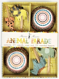 Animal Parade - Kit de Cupcake