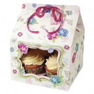 Love in the Afternoon - Caixa para Cupcake