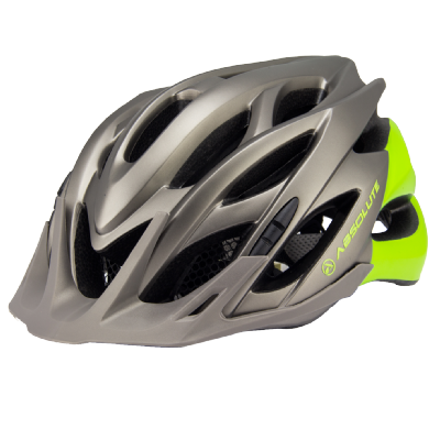 Capacete MTB Nero c/ LED - Absolute