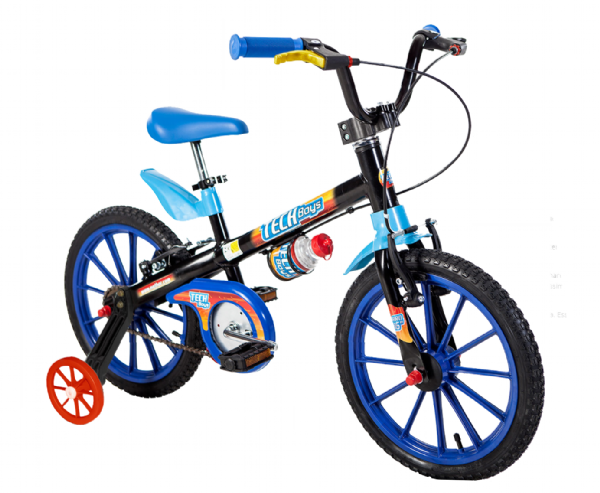 Bicicleta Aro 16 Tech Boys 5 - Nathor