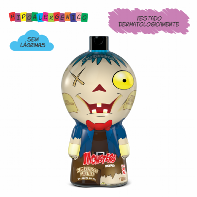 SABONETE LÍQUIDO MONSTERS MANIA HOLT (1L)