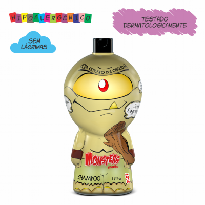 SHAMPOO MONSTERS MANIA SCOT (1L)