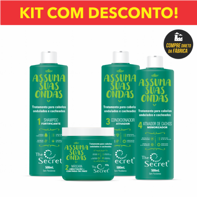 KIT ASSUMA SUAS ONDAS THE SECRET