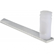 Haste De Aluminio 1x4mm De 1m C/ 6 Isolad.maia