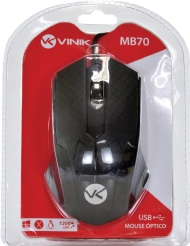 Mouse optico preto PS2 - MB70
