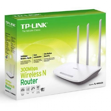 Roteador Wireless N 300mbps Tl Wr845n Tp Link